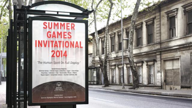 Summer Games Bus Stop